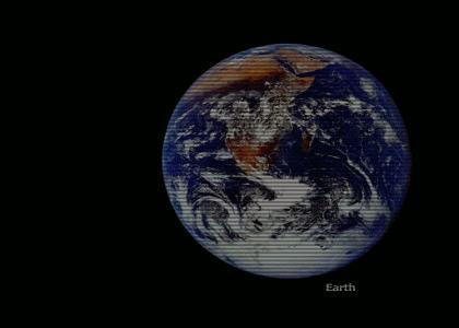 Die Größe unserer Welt.