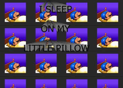Mario Paint - I Sleep On My Little Pillow