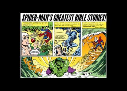 Spider man is god, kinda.