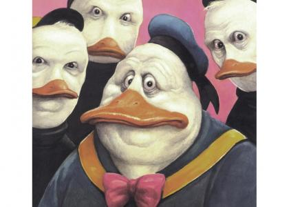 Donald and his nephews stare into your soul