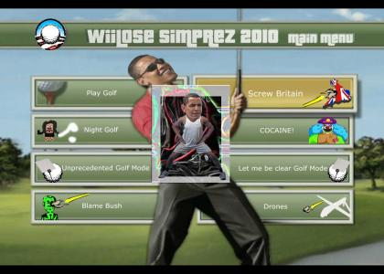 EA Sports Obama Golf Pro64 2010
