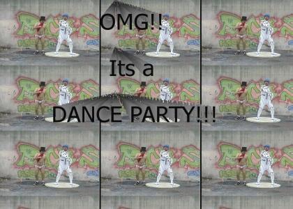 Keep on dancing dance guys!