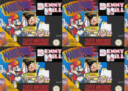 Mario Paint vs Benny Hill