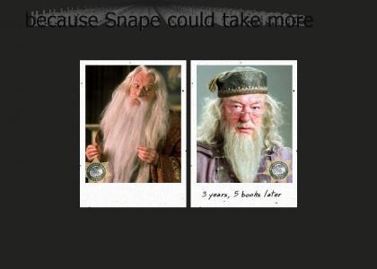 Meth kills Dumbledore