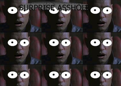 morpheus gets a surprise