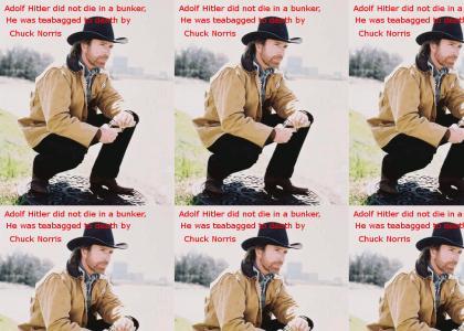 OMG Secret Nazi Chuck Norris Fact!!!