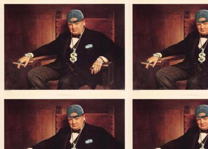 Churchill is a gangsta