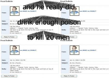 Romeo Myspace Suicide