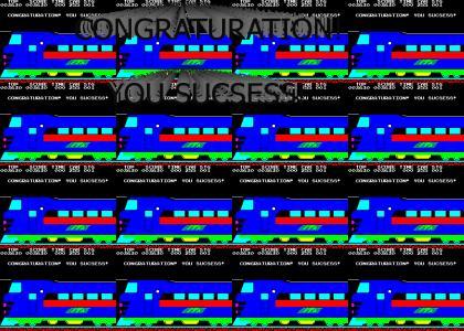Congraturation! You Sucsess!