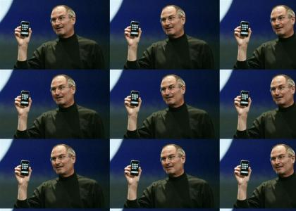 Crazed Steve Jobs Stares Into Your Soul