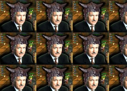 Alex Trebek sings about Leeroy Jenkins