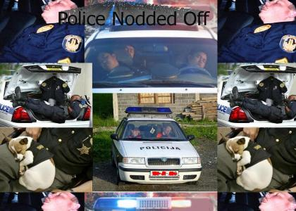 Police Nodded Off