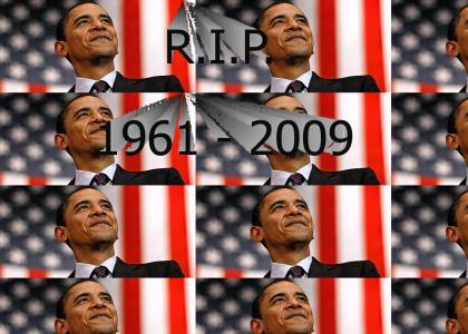 R.I.P. Barack Obama
