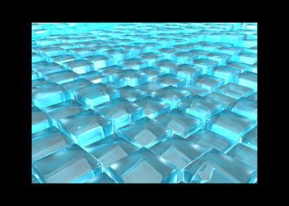 light cube of peace