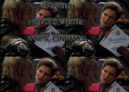 Janeway defeats the Borg