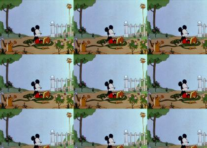 Mickey Swallows Some Magic Seeds