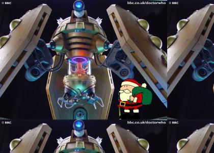 Dalek V's Santa