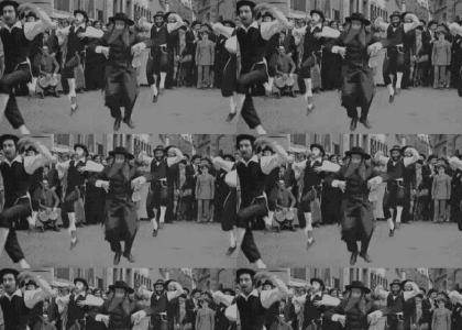 Rabbi Likes to Dance!