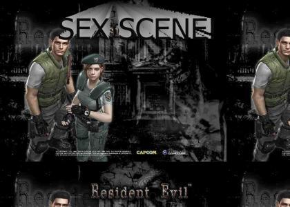 RESIDENT EVIL SEX SCENE