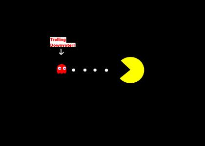 An urgent message from PacMan