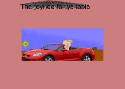 The Joy Ride For Ya Labia (new audio)