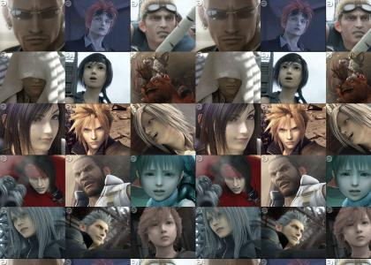 Final Fantasy 7 Collage