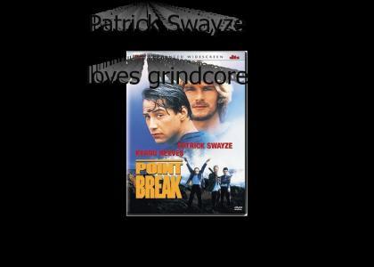 patrick swayze brings the mosh