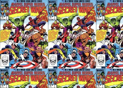 Marvel Comic Cover Decays, Then Comes Back To Life.