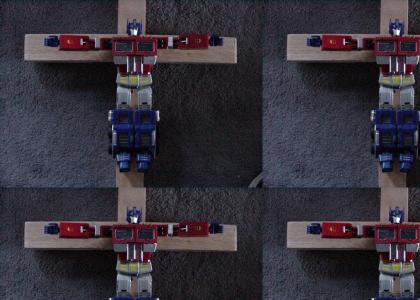 Optimus Prime Died for Your Sins (AKA: More Blasphemy)