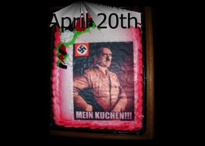 OMG, Secret Nazi Birthday!