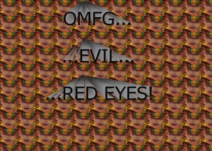 EVIL RED EYES