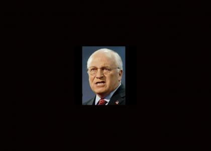 Dick Cheney Doesn't Change Facial Expressions (Now with gratuitous cameo!)