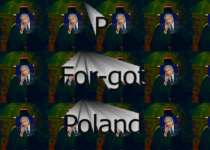 P is For(got) Poland (VOTE % PLZ)