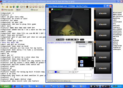 truth or dare with two of the hottest babes on irc