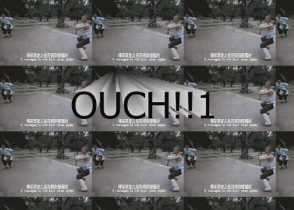 Epic Wushu maneuver