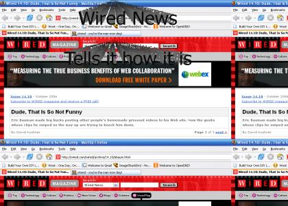 Wired News Trashtalks Eric Bauman