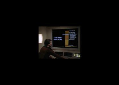 Riker Checks Out A Trek Convention