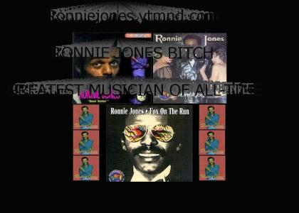 RONNIE JONES KING OF DOLLAR STORE CD'S!