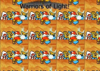 Warriors of Light: 8-Bit Theater!