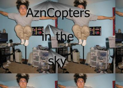 Azncopters in the sky
