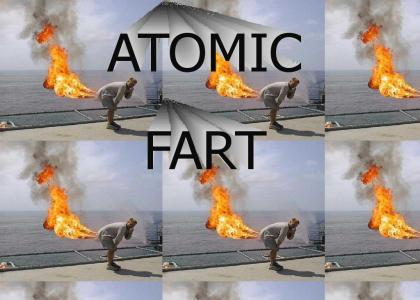 exploding fart