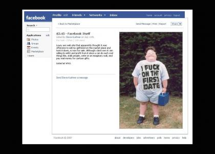 Facebook for sale