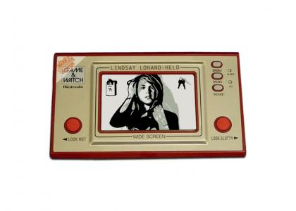 Lindsay Lohan GAME AND WATCH