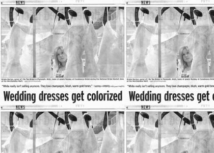 Newspaper fails at color print