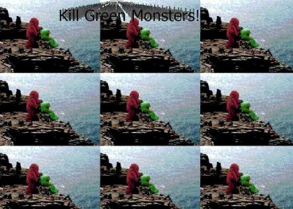 Kill Green Monsters