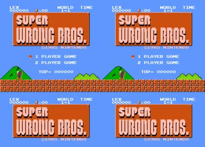 Super WRONG Bros