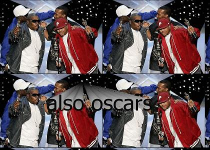 Three 6 Mafia is Ridin Spinnaz (also oscars)
