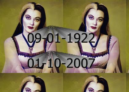 RIP Lily Munster