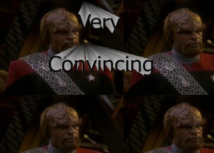 Babies Make Worf Uneasy