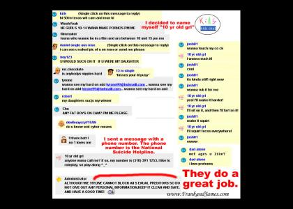 Kids Chat Rooms